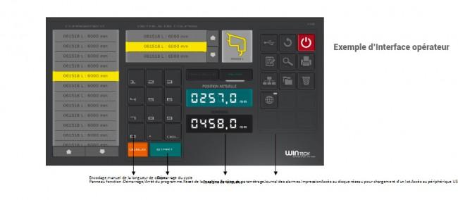 interface opérateur CENTRE DE SCIAGE PARECLOSES
