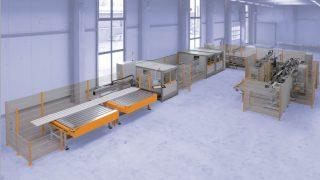Centre de débit profilés et d'usinage Schirmer PVC Baz 1000