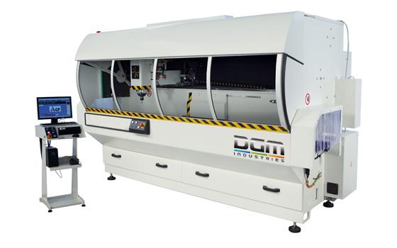 Centre d'usinage à banc HEXON - DGM Industries